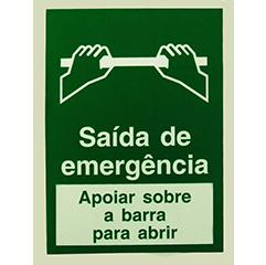 Sinalização de saída emergência (3)