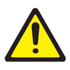 Sinalização de Advertência e Perigo (2)