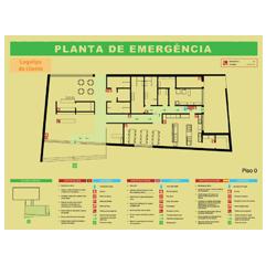 Planta de emergência